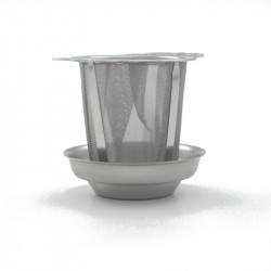 Te filter med underskål
