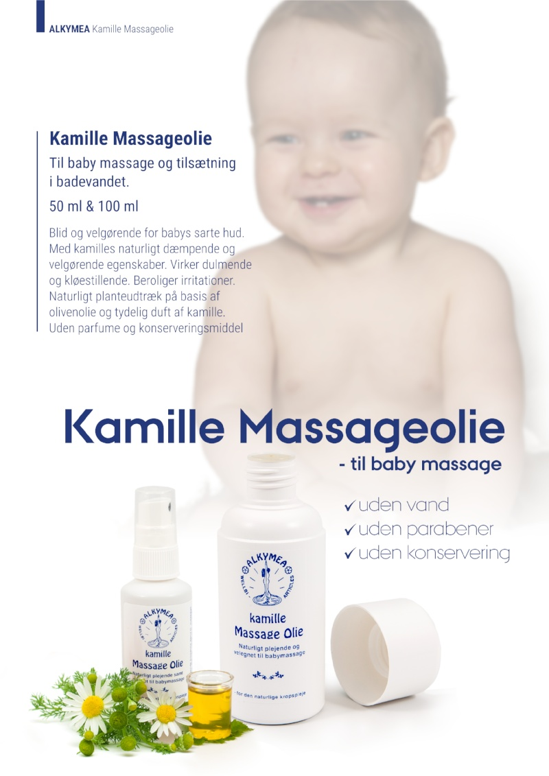Kamille Massageolie